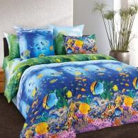 Комплект постельного белья Подводный мир 1