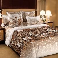 Комплект постельного белья Леопард 1