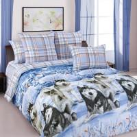 Комплект постельного белья Хаски 1