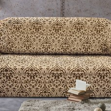 Чехол на четырехместный диван универсальный Богемия М Беж