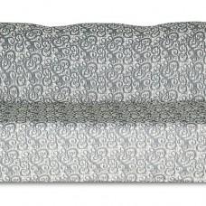 Чехол на трехместный диван Жаккард Вензель, серый