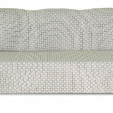 Чехол на трехместный диван Жаккард Паркет, серый