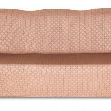 Чехол на трехместный диван Жаккард Паркет, коричневый