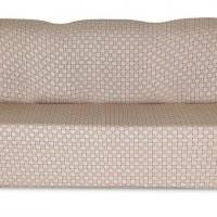 Чехол на трехместный диван Жаккард Паркет, бежевый
