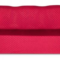 Чехол на трехместный диван Жаккард Паркет, красный