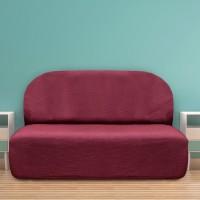 Чехол на диван без подлокотников универсальный Аляска Рохо