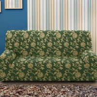 Чехол на четырехместный диван универсальный Акапулько Верде