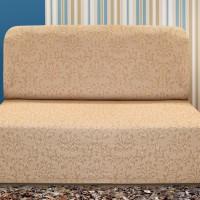 Чехол на диван без подлокотников универсальный Богемия Беж