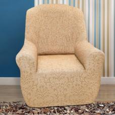 Чехол на кресло универсальный Богемия Беж