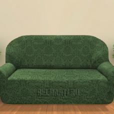 Чехол на четырехместный диван универсальный Богемия Верде