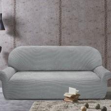 Чехол на четырехместный диван универсальный Галант Грис Кларо