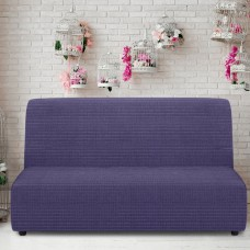 Чехол на диван без подлокотников универсальный Ибица Азул