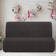 Чехол на диван без подлокотников универсальный Ибица Грис