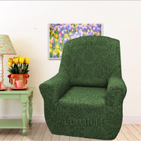 Чехол на кресло универсальный Богемия Верде