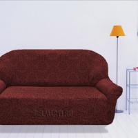 Чехол на четырехместный диван универсальный Богемия Рохо