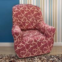 Чехол на кресло универсальный Персия Рохо