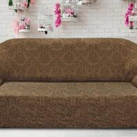Чехол на четырехместный диван универсальный Богемия Марон