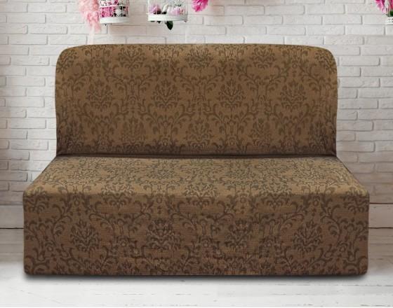 Чехол на диван без подлокотников универсальный Богемия Марон