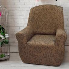Чехол на кресло универсальный Богемия Марон