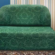 Чехол на диван без подлокотников универсальный Богемия Верде