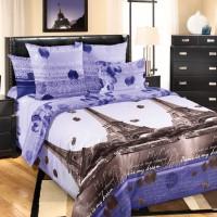 Комплект постельного белья Романтика Парижа 1