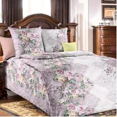 """Комплект постельного белья 1,5 спальный хлопок """"Аллея роз 1"""""""