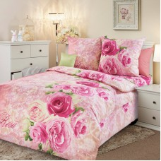 """Комплект постельного белья 1,5 спальный """"Аромат розы 1"""""""