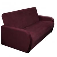 Чехол на 3м диван клик- кляк Бирмингем фиолетовый