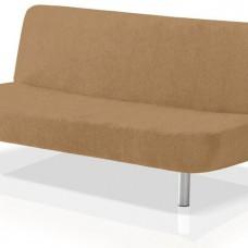 Чехол на диван без подлокотников универсальный Аляска Беж
