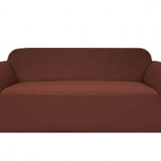 Чехол на двухместный диван Бирмингем шоколад