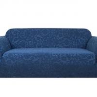 Чехол на двухместный диван Челтон морская волна