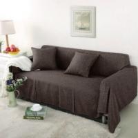 Чехол на двухместный диван Лидия шоколад