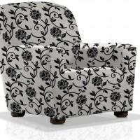 Чехол на кресло универсальный Акапулько Бланко