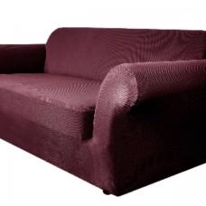Чехол на трехместный диван Бирмингем фиолетовый