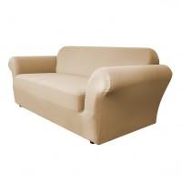 Чехол на трехместный диван Бирмингем бежевый