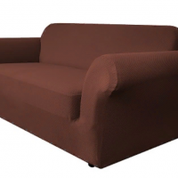 Чехол на трехместный диван Бирмингем шоколад
