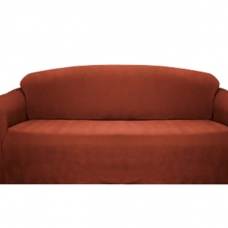 Чехол на трехместный диван Бирмингем терракот