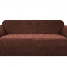 Чехол на трехместный диван Челтон шоколад