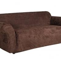 Чехол на трехместный диван Лидс шоколад
