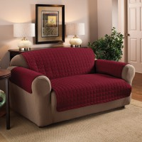 Накидка на 3м диван Йорк цвет бордо