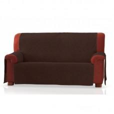 Накидка на широкий трехместный диван Иден шоколад