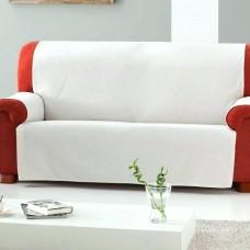 Накидка на трехместный диван Иден светло-серый