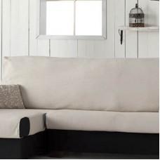 Накидка на угловой диван Иден бежевый, левый угол