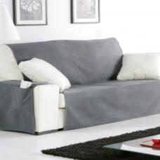 Накидка непромокаемая на широкий трехместный диван Иден темно-серый