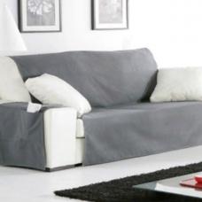 Накидка непромокаемая на трехместный диван Иден темно-серый
