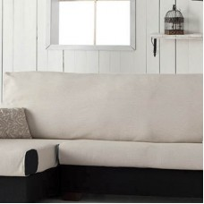Накидка непромокаемая на угловой диван Иден бежевый, левый угол