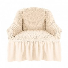 Чехол на кресло с оборкой (Шампань)