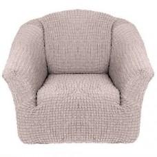 Чехол на кресло без оборки (Какао)