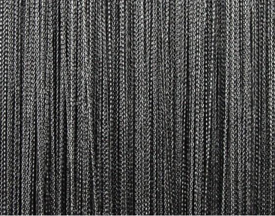 Нитяные шторы однотонные темно-серый TT-116