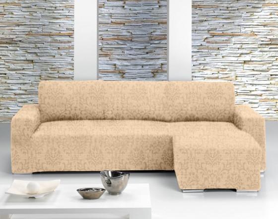 Чехол на угловой диван с выступом справа Европейский Богемия Марфил